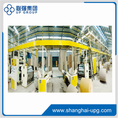 LQ100-1600-5-layer Corrugated Cardboard Production Line