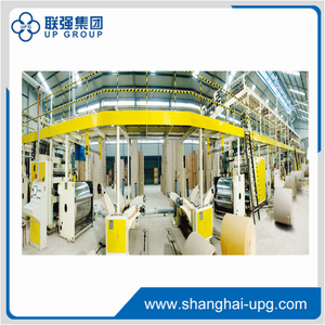 LQ180-2200-3 Ply Corrugated Cardboard Production Line