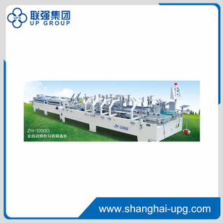 LQ-ZH-1200G Automatic Crash Lock Bottom Folder Gluer with Pre-fold