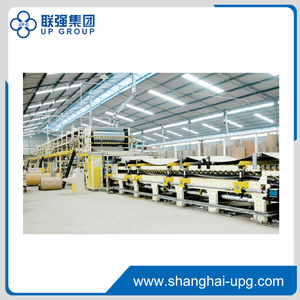 WJ150-1600 5-layer Corrugated Cardboard Production Line