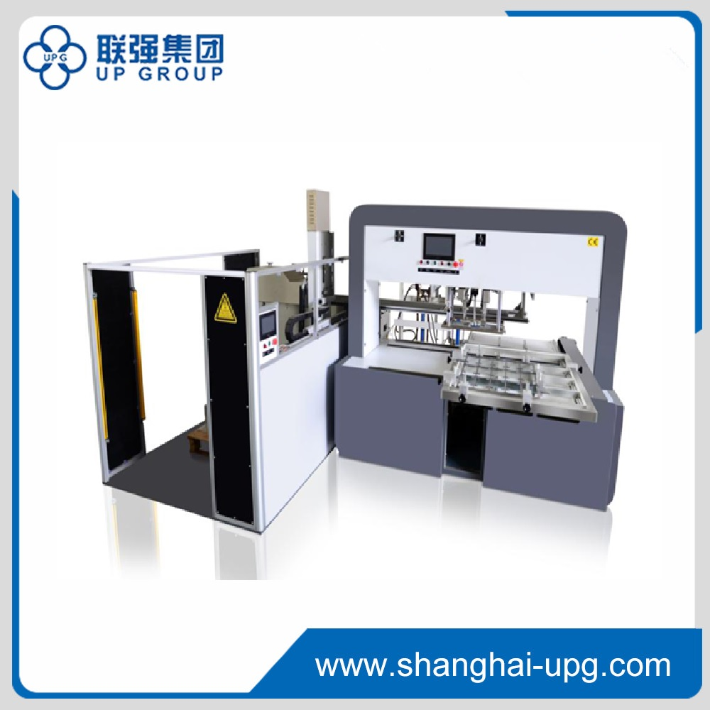 LQF-1020 Series Microcomputer Stripping Machine (with mechanical hand and auto paper delivery)