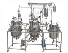 Herb extracting & concentrating production line