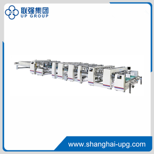 High Speed Full Automatic Folder Gluer Machine LQJT Series LQJT1700 / LQJT1900 / LQJT2400 / LQJT2800 / LQJT3200