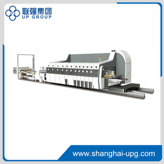 LQKM High Speed Flexo Printing Slotting Die-cutting Machine