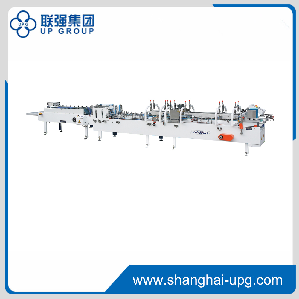 ZH-800D/880D/1000D Automatic Muti-functional Crash Lock Bottom Folder Gluer(Advnced Configuration)