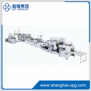 H Series Square Bottom Sheet Fed Paper Bag Making Machine (With / Without Handle, Punching)