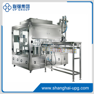 LQ-GXG-2 Automatic Filling and Capping Machine for Spout Standing Pouch