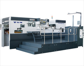 Auto & Semi-auto hot stamping and die cutting machine