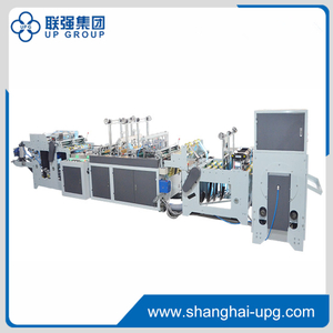 LQSA-500 Automatic double lines star seal rolling vest making machine