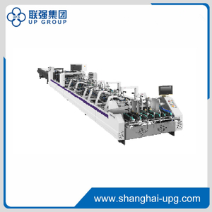 LQ-BH850-Straight line-double side-lock bottom-4 corner-6 corner Folding Gluing Machine