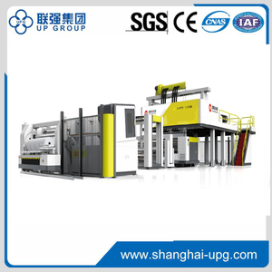 LQ-80/120/80x2350 High speed automatic three layers or five layers cast stretch film machine with a center winder