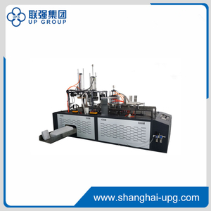 LQCHJ-D60/120 Paper Lunch Box Forming Machine(Mechanical Driving&Heat Sealing)