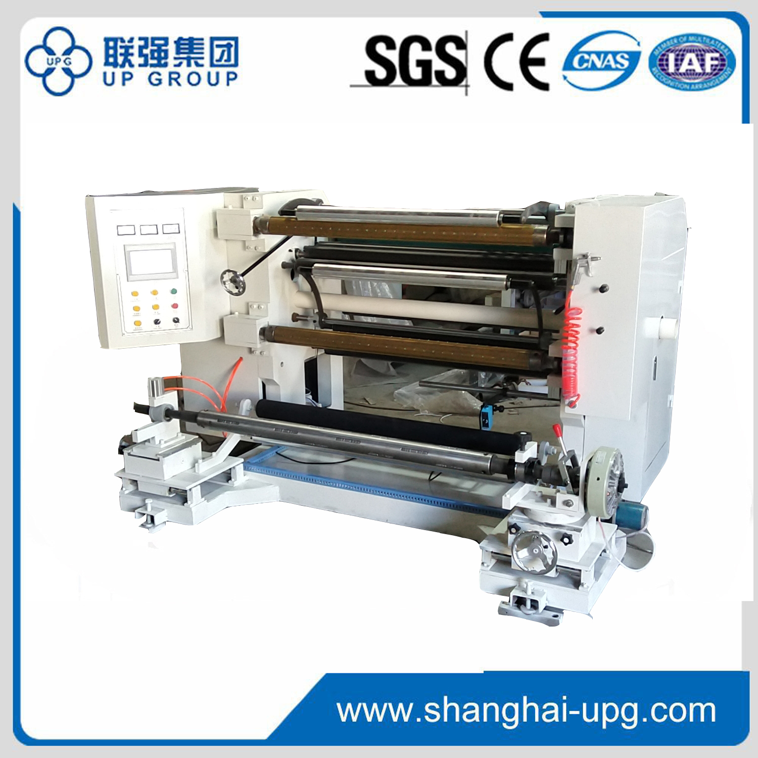 LQ-1100/1300 Microcomputer high speed slitting machine