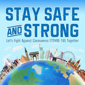 Let's fight against COVID-19 together