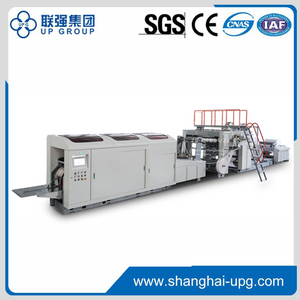 Fully Auto Roll-fed Paper Bag Machine (Flat Handle)
